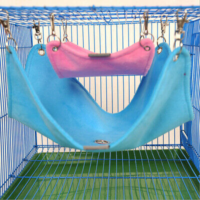 £4.69 • Buy Hamster Hanging House Hammock Sleeping Nest Bed Rat Hamster Toy Cage Accessories