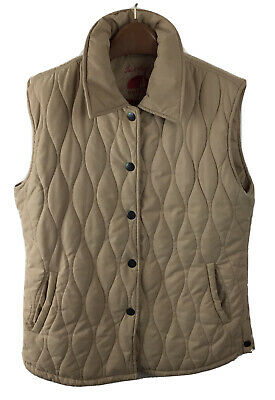 £17.99 • Buy Jack Murphy Brown Quilted Sleeveless Gilet Jacket Size 12 Good Condition