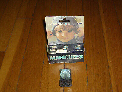 $9 • Buy 4 Vintage MagiCubes Flash Cubes