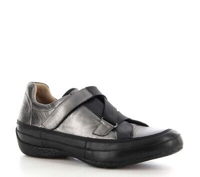 AU139.95 • Buy Ziera Sylvia Black Pewter Comfort Orthotic Work Travel Sneaker Shoe Sz Eu40m New