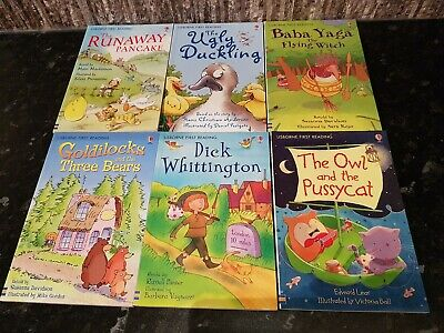 £14.99 • Buy 6 X Children's  Usborne Young Readers 6 Book Bundle And Series Level Four