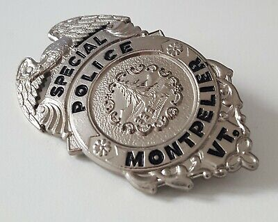 £18.99 • Buy Obsolate Historical Usa Police Badge ...Special Police Montpelier / VERMONT
