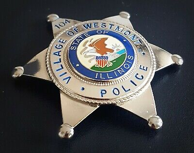 £18.99 • Buy Obsolate Historical Usa Police Badge ... Village Of Westmont  No. 104 / ILLINOIS