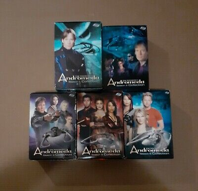 Andromeda Complete Series, Seasons 1, 2, 3, 4, & 5 • 61.51£