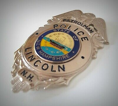 £18.99 • Buy Obsolate Historical Usa Police Badge ... Lincoln Co. / New Hampshire