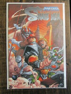 $6.95 • Buy CrossGen MASTERS OF THE UNIVERSE RISE OF SNAKE MEN Comic Book Issue # 2 Of 3 Set