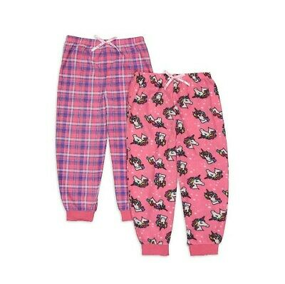 $12.50 • Buy Size 12 Freestyle Revolution Girls Fleece Pajama Pants 2 Pair