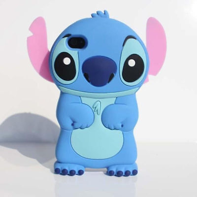 3D Stitch Phone Case For IPhone 11 12 Pro Max XR XS 5 6 7 8 SE Samsung S8 S9 • 3.99£