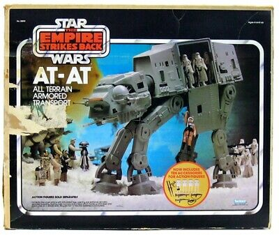 $ CDN885.84 • Buy Vintage Kenner Star Wars ESB AT-AT Imperial Walker W/Orig Chin Guns & Box Works