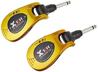 AU190.06 • Buy XV-U2 Gold Guitar Wireless System Rechargeable 2.4GHz Clear Signal Transmission