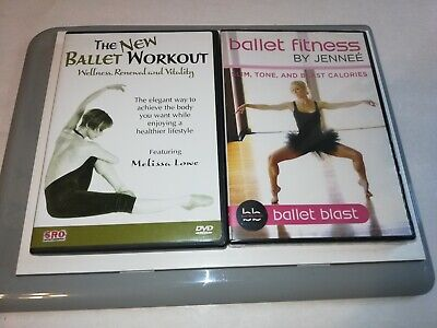 £74.03 • Buy The New Ballet Workout (DVD, 2004)+ Ballet Fitness By Jenee