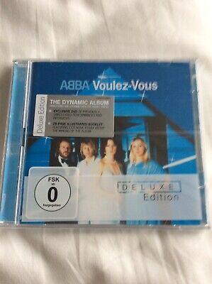 ABBA - Voulez-Vous - CD + DVD Deluxe Set - New And Sealed • 79.99£