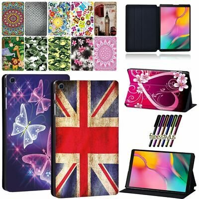 Leather Stand Cover Case For Samsung Galaxy Tab A 7.0/8.0/9.7/10.5/10.1 Tablet • 8.98£