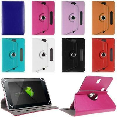 Universal 360 Rotating PU Leather Ultra Slim Smart Case Cover For 10 Inch Tablet • 4.95£