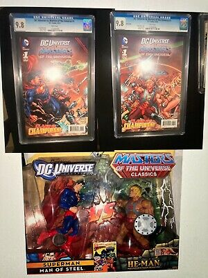 $399.99 • Buy Dc Universe Vs Master Of The Universe Collection