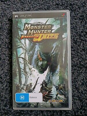 AU45 • Buy Monster Hunter Freedom Unite PSP Game - With Manual