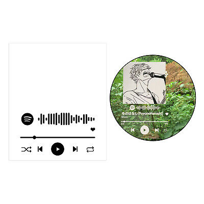 AU14.93 • Buy Favorite Song Personalised Spotify Any Track Song Plaque Any Photo Acrylic