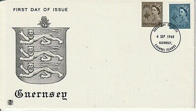 1968 Regional Definitive Guernsey   Fdc  First Day Cover   Superb  • 0.99£