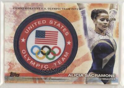 $ CDN22.57 • Buy 2012 US Olympic Team And Hopefuls Manufactured Alicia Sacramone Rookie Patch