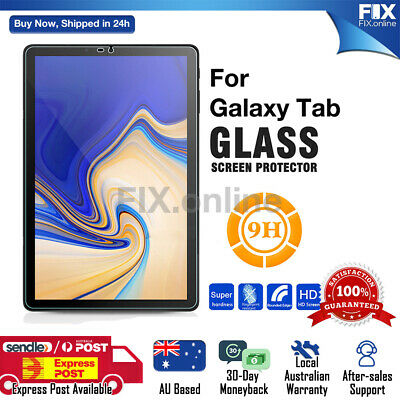 AU11.68 • Buy Tempered Glass Screen Protector For Samsung Galaxy Tab A7 10.4 /A 8/ 10.1/ 10.5