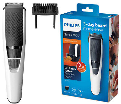 AU54.95 • Buy Philips BT3206/14 Cord/Cordless Stubble Beard Trimmer/Body Hair Groomer