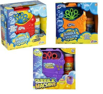 New Kids Swirling Bubble Cyclone Machine Set Outdoor Garden Games Fun Toy Party  • 8.75£