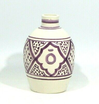 AU7.41 • Buy DoTerra Moroccocan Oil Diffuser Ceramic Vase Handmade In Morocco Pre Owned