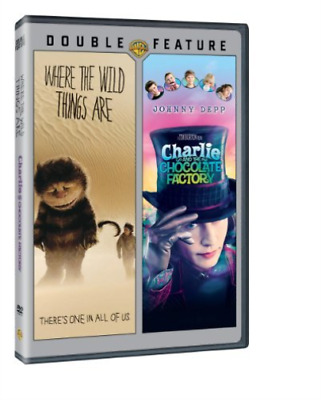 AU12.53 • Buy Depp,johnny-where The Wild Things Are/charlie And Dvd New