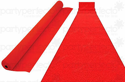 £7.99 • Buy 15ft Hollywood VIP Red Carpet Floor Runner - Party Prom Birthday Prop Decoration