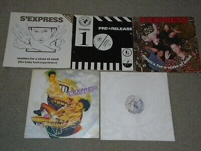 5 X 12   S' Express Record Collection.              OLD SKOOL CLASSICS!! • 7.50£