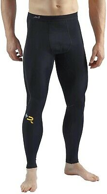 £18.80 • Buy Sub Sports R+ Recovery Mens Compression Tights Black Long Training Baselayer
