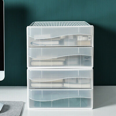 A4 Drawer Type Office Desktop Storage Box Nordic Style School Paper Documents • 20.95£