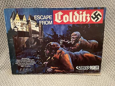Vintage Escape From Colditz Board Game Parker Games Original 1973 • 68.95£