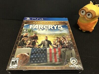 AU143.52 • Buy Far Cry 5 GOLD Edition W/Deluxe Pack, Season Pass & More - PS4