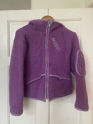 Pachamama Purple Coat Size Small • 35£