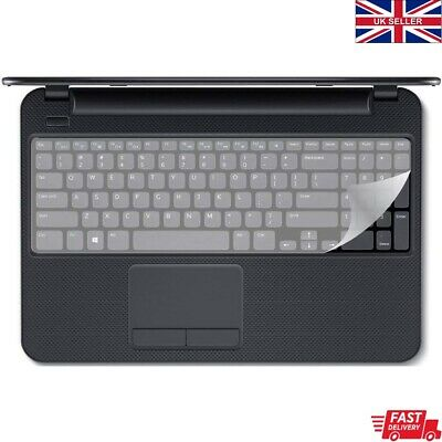 Keyboard Protector Cover Silicone LARGE For Laptop 15  PLUS With NUMERIC KEYPAD  • 3.49£