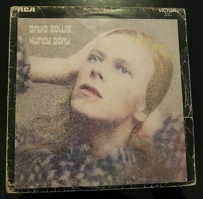 DAVID BOWIE - HUNKY DORY UK PRESS RCA Victor SF 8244 VINYL LP • 14.90£