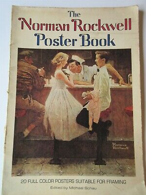$ CDN22.28 • Buy 1976 The Norman Rockwell Poster Book 20 Full Color Posters By Micheal Schau