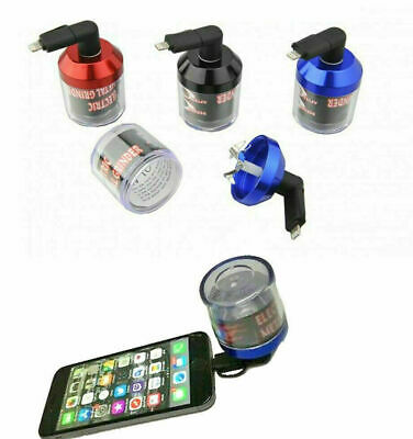 £4.99 • Buy USB Electric Herb Tobacco Grinder Power Up With Android Apple IPhones Random Col