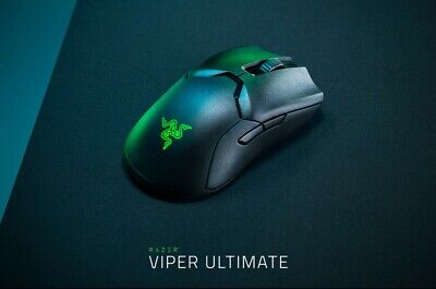 AU190 • Buy Razer Viper Ultimate Wireless Gaming Mouse With Charging Dock - Black