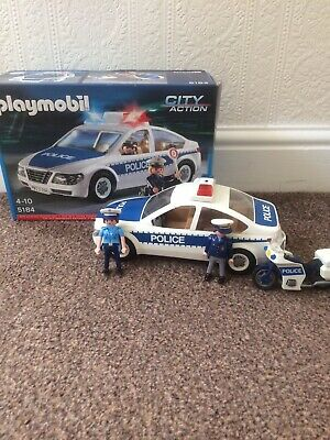 Playmobil Police Car 5184 Plus Bike • 10£