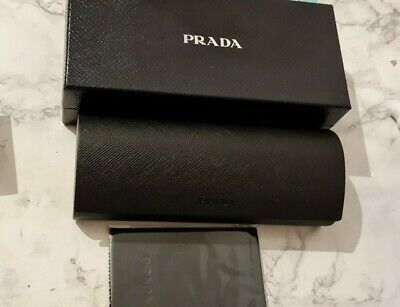 Brand New Black Prada Glasses Case With Box And Unopened Cloth! • 15£