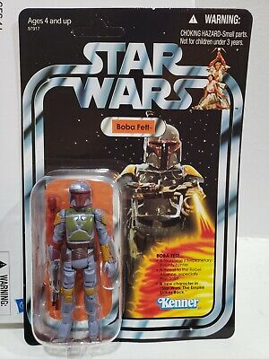 $ CDN98.71 • Buy 2010 STAR WARS Vintage VCP03 Rocket Firing Boba Fett Mail-Order Exclusive W/ Box