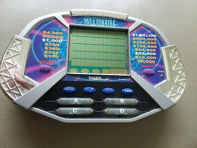 £10.64 • Buy Who Wants To Be A Millionaire - Hand Held Game By Tiger Electronics