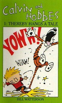Calvin And Hobbes Volume 1 `A' The Calvin & Hobbes Series: Thereby Hangs A Tail • 7.72£