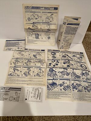 $ CDN19.13 • Buy 1989 GI Joe Vehicle Blueprints Instructions LOT