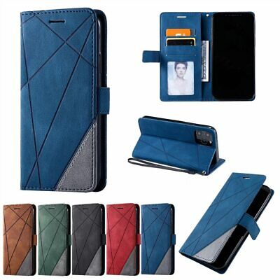 AU7.24 • Buy Leather Case Card Holder Wallet Flip Cover For IPhone 12 Pro Max 11 8 7 6 Plus