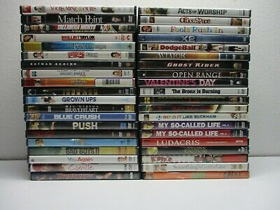$ CDN13.13 • Buy Wholesale Lot Of 40 Assorted ***( Various Genres )*** DVDs & DVDs Movies (R#300)