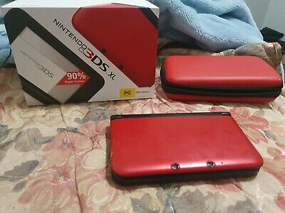 AU167 • Buy Red 3DS XL With Original Box And Case