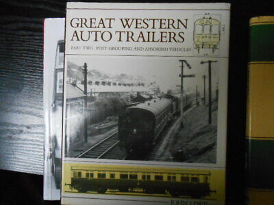 GWR. GREAT WESTERN AUTO TRAILERS Part Two. POST-GROUPING AND ABSORBED VEHICLES B • 6£